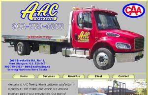 towing website