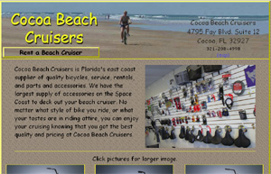 bicycle shop website