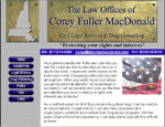Attorney Corey MacDonald website