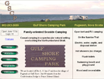 Gulf Shore Camping Park website