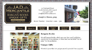 bookstore website