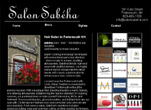Salon Sabeha website